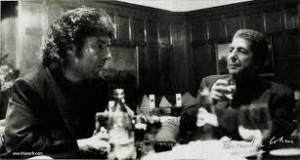 Leonard Cohen junto a Enrique Morente