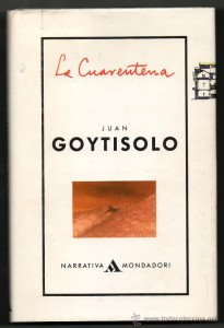 "Portada de la novela de Juan Goytisolo ""La Cuarentena"""