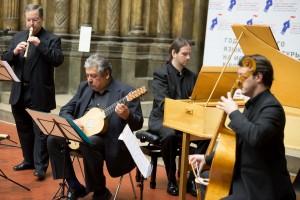 El grupo Zarabanda en el acto inagural del Año de la Lengua Española y la Literatura en Español en Rusia