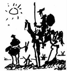 Don Quijote y su fiel escudero, Sancho Panza