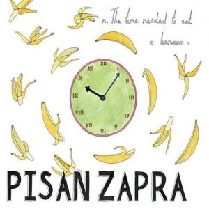 """""""Pisan Zapra"""", el tiempo necesario para zamparse una banana"""