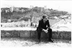 Cohen en el Mirador de San Nicolás