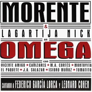 """Caratula del disco """"Omega"""""""