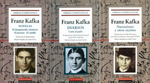 """Edición de las """"Obras Completas de Kafka"""" de Galaxia-Gutenberg dirigidas por Jordi Llovet"""